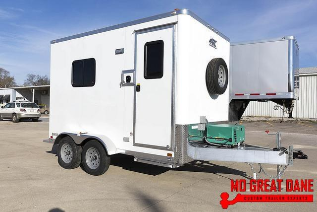 2020 ATC QUEST 7 X 12 Fiber Optic Splicing Trailer
