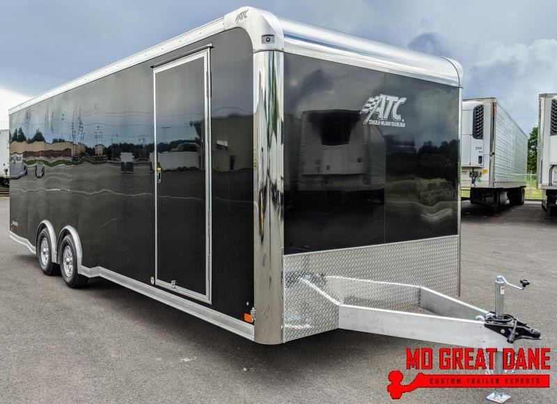 2021 ATC RAVEN 8.5 x 24 Aluminum Enclosed Cargo Trailer