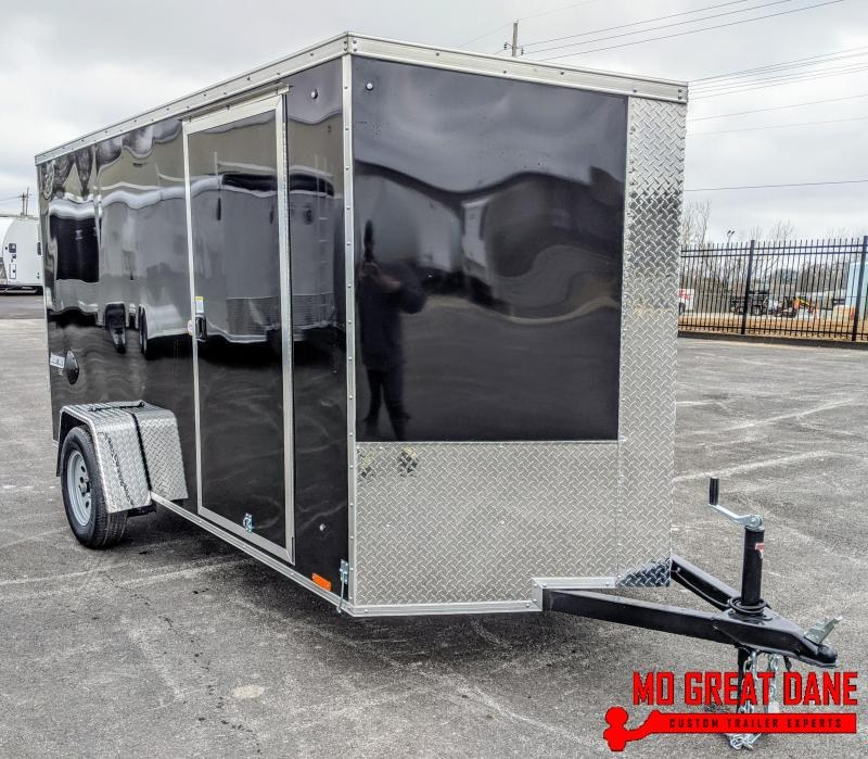 2020 Pace American Journey SE 6 x 12 V-Nose Enclosed Cargo Trailer