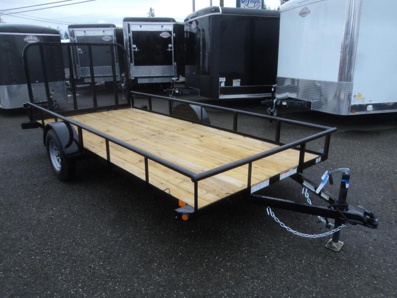 2020 PJ Trailers E714 Utility Trailer