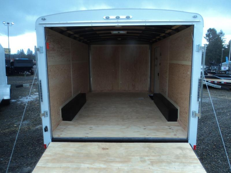 2020 Cargo Mate Blazer 8.5x14 7K w/Rear Ramp door