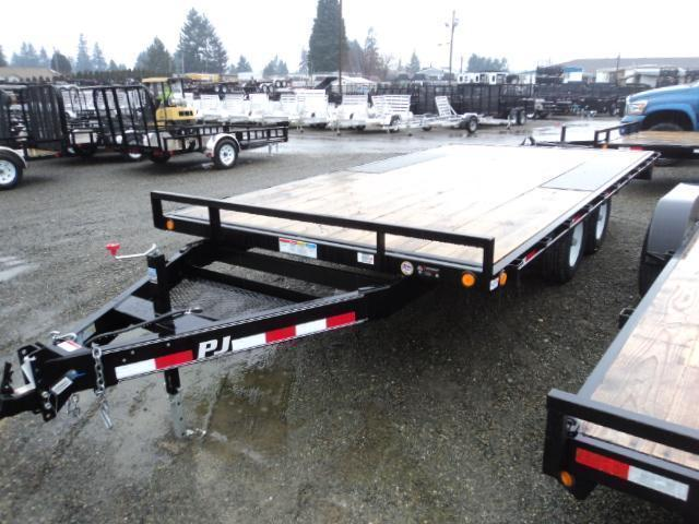 "2020 PJ 8.4X16 10K Deckover 6"" Channel Trailer"