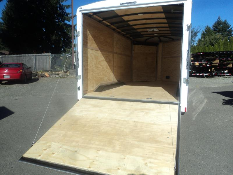 2020 Cargo Mate Blazer 8.5x16 7K w/4' Wedge/Extra Height/D-rings+++