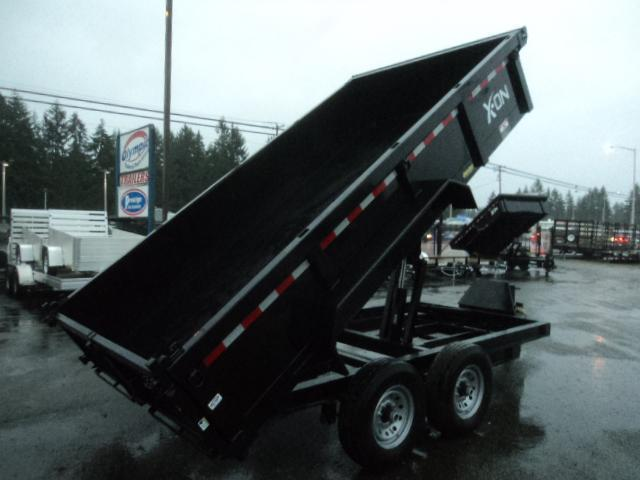 2019 X-On 7x16 14K Dump Trailer w/Tarp Kit/Ramps++