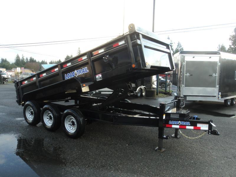 2020 Load Trail 7X16 21K Dump With Scissor Lift/Tarp Kit/Ramps