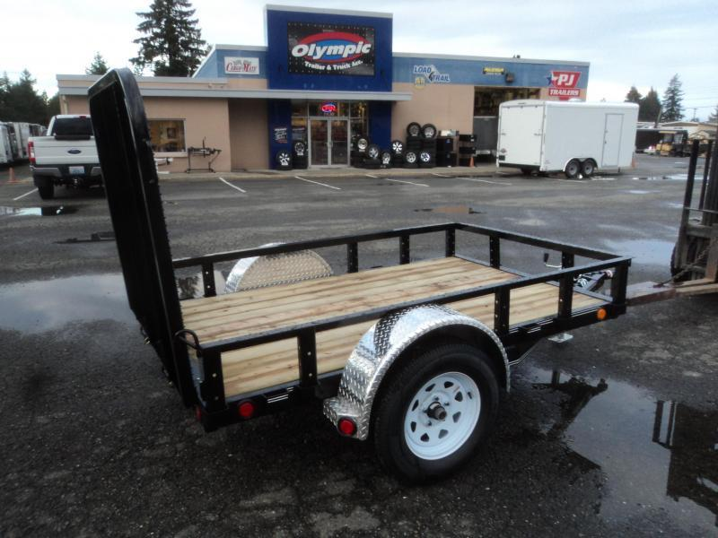 2020 PJ Trailer 5x8 w/Fold up Gate