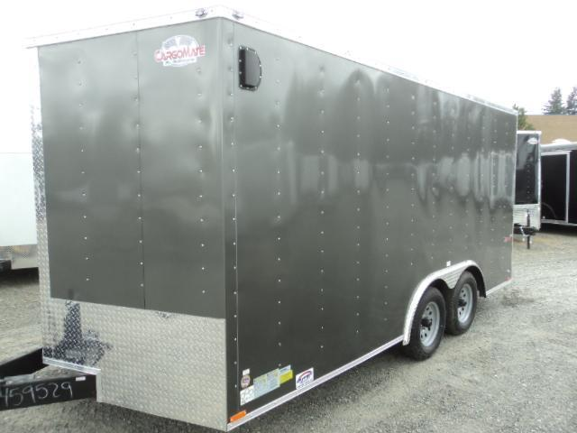2020 Cargo Mate E-Series 8.5x16 7K w/Extra Height/Ramp-D-rings