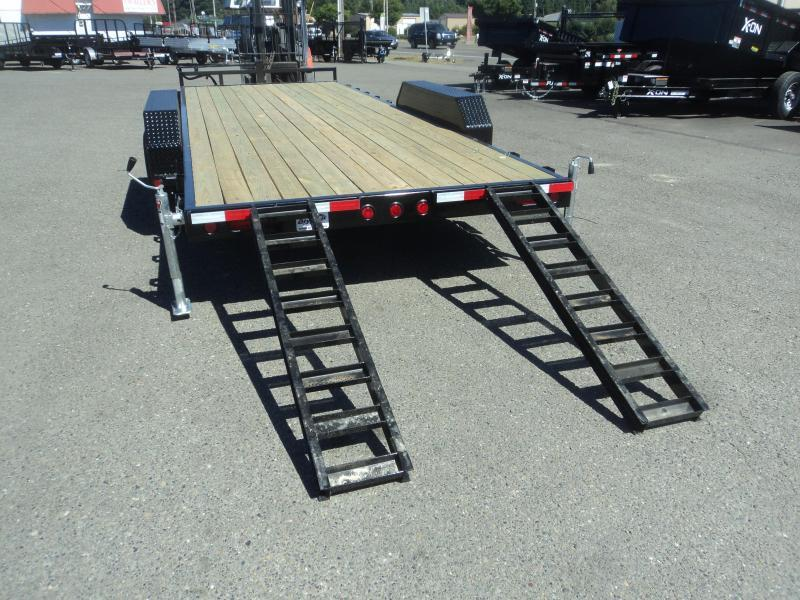 "2020 PJ Trailers 7x18 14K 6"" Channel Equipment Trailer"