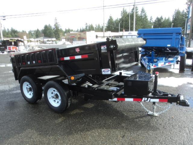 2020 PJ 5X10 10k Dump with Tarp Kit/Ramps