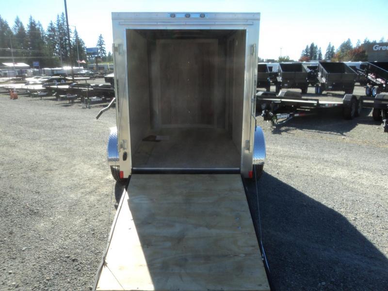 """2020 Cargo Mate Challenger 5x8 w/6"""" Extra Height/Ramp Door"""