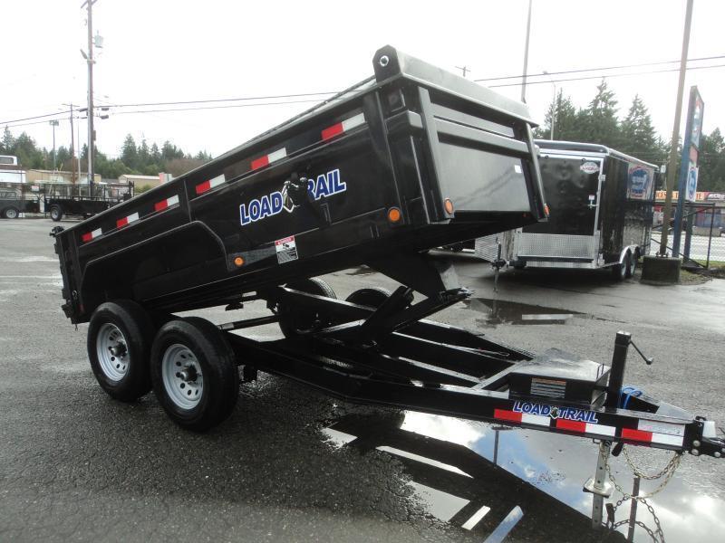 2020 Load Trail 6X12 10K w/Rapid Charger/Tarp Kit/Ramps