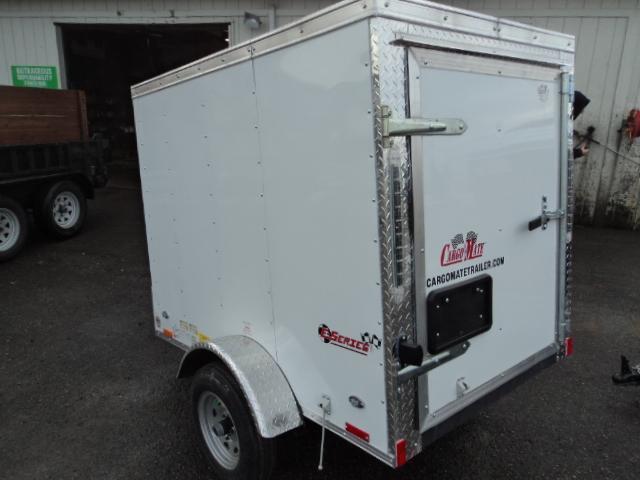 2020 Cargo Mate E-series 4X6 Enclosed Utility Trailer