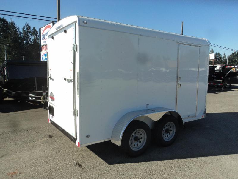 2020 Cargo Mate Blazer 6X12 7K w/Rear Ramp Door
