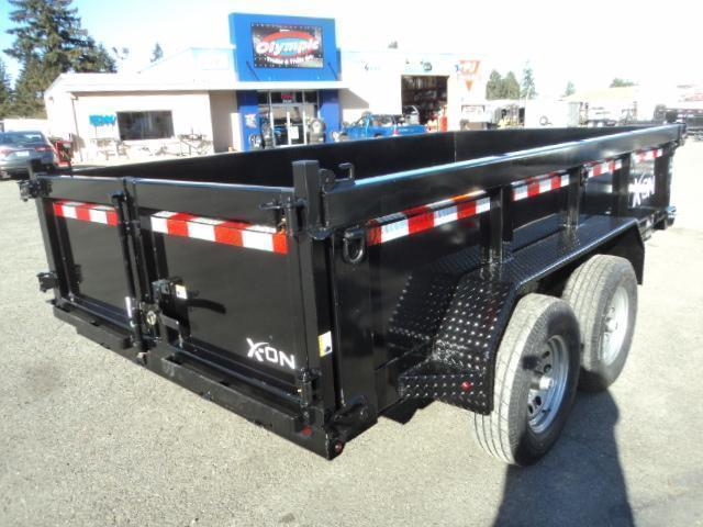 2020 X-On 6X12 10K Dump Trailer w/Tarp Kit/Ramps++