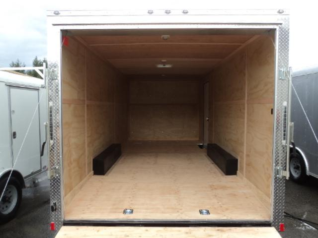2021 Cargo Mate E-Series  8.5X20 7K w/Extra Height/Ramp Door/D-Rings