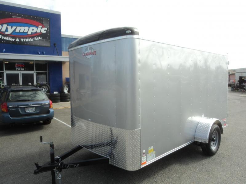 2020 Cargo Mate Blazer 6X12 w/Rear Ramp Door
