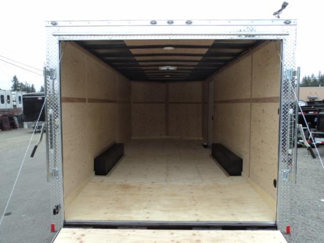"2020 Cargo Mate E-Series  8.5X20 7K +6"" Height/Ramp Door/D-rings"