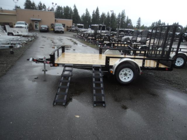 2020 PJ Trailers 6.5X12 with Side Mount ATV Ramps Utility Trailer