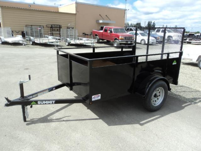 2020 Summit Alpine 5X10 Single Axle Utility Trailer/ with spare