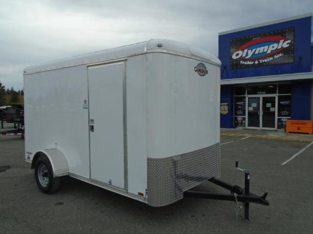 2021 Cargo Mate Blazer 6X12 w/Extra Height/Ramp Door