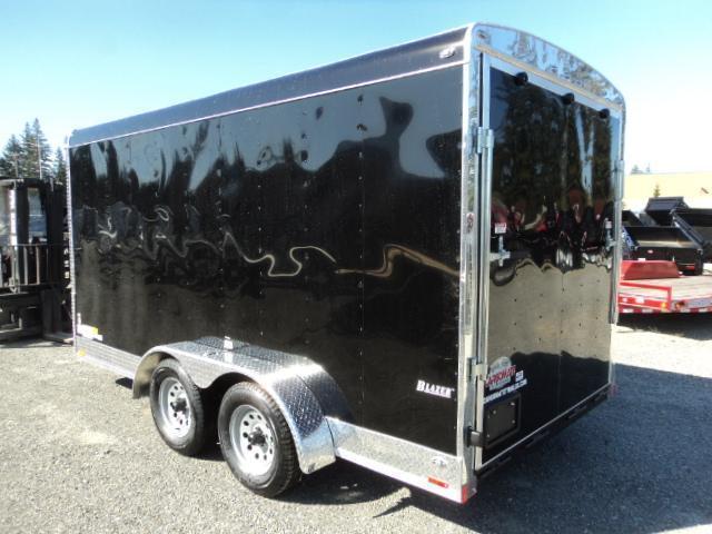 2020 Cargo Mate Blazer 7X14 7K w/Rear Ramp Door And Appearance Package
