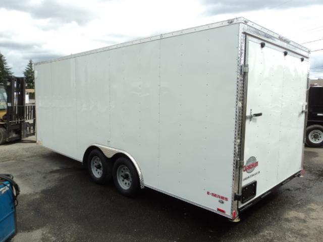 2020 Cargo Mate E-Series 8.5X18 7K w/Ramp/Extended Tongue/Ceiling Liner