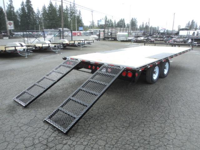 2020 PJ L6 8.4X20' 10K Deckover w/Slide In Ramps