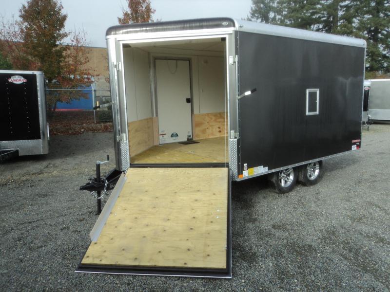 2020 Cargo Mate Snowbird 8.5x16 7K Snowmobile Enclosed Trailer