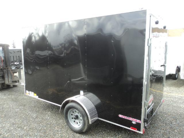 2020 Cargo Mate Challenger 6x12 w/Rear Ramp Door Enclosed Cargo Trailer