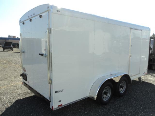 "2020 Cargo Mate Blazer 7X16 7K w/Rear Ramp Door and 6"" Extra Height"