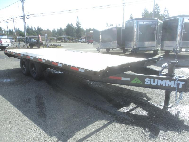 2020 Summit Denali Pro 8.5x20 14K Deckover Equipment Trailer