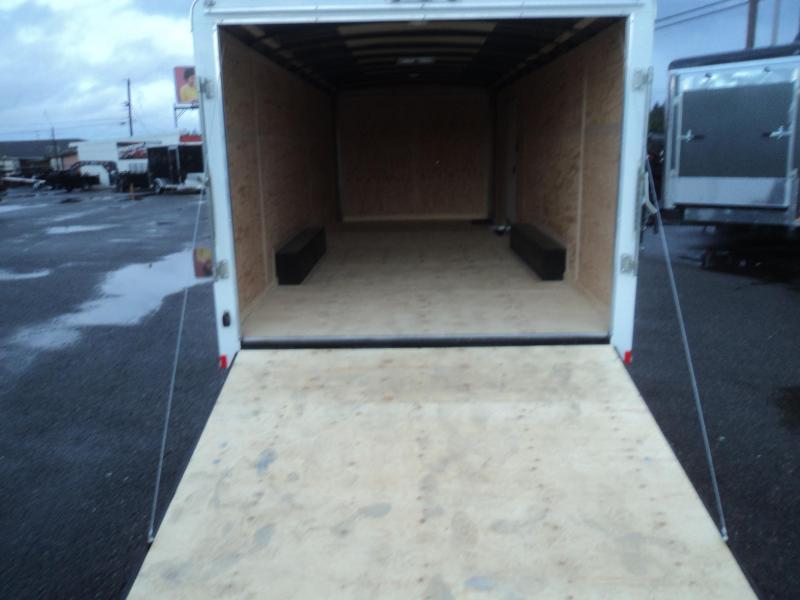 2021 Cargo Mate 8.5X20 10K with Ramp Door