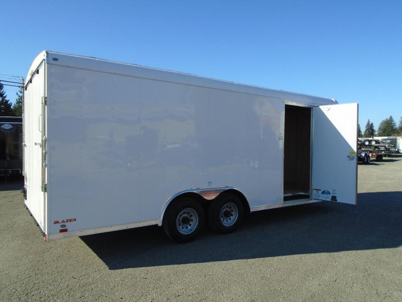 2021 Cargo Mate 8.5X20 10K with Ramp Door