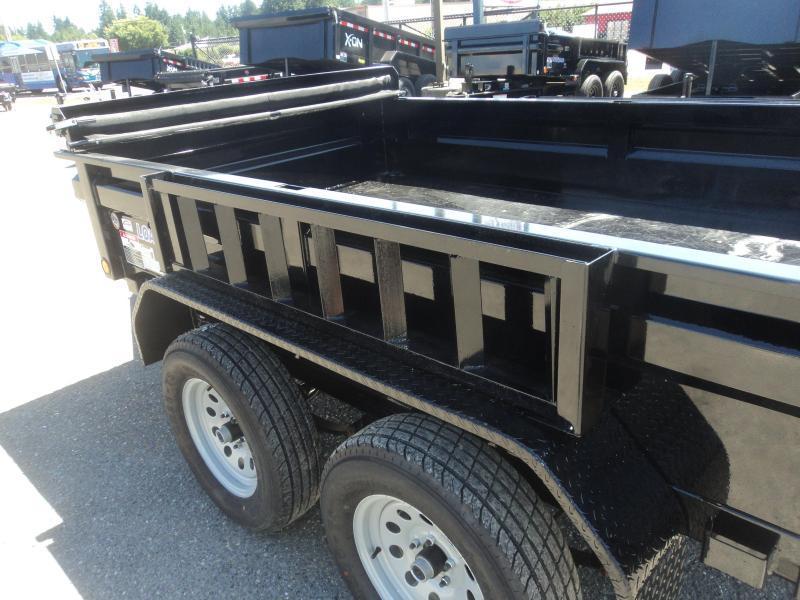 2020 Load Trail 6x10 7K Dump w/Spare Tire/Tarp Kit/Ramps++++