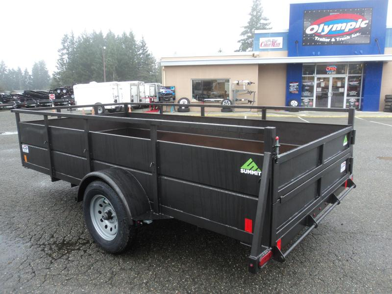 2020 Summit 6x12 Utility with Split Ramps