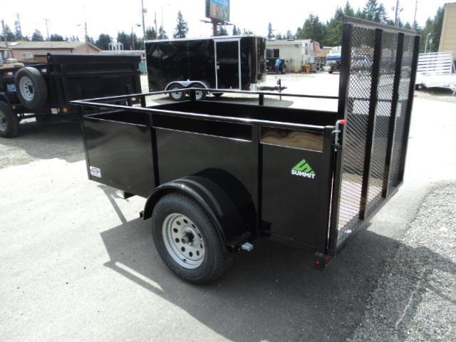 2020 Summit Alpine 5X8 Single Axle Utility Trailer
