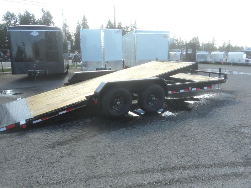 "2020 PJ 7X20 10K 5"" Channel Tilt Carhauler Trailer"