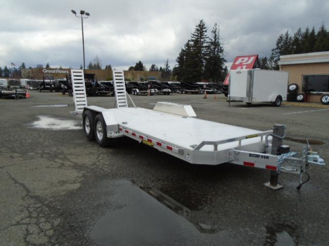 Aluma 14k 7x20 Super Heavy Tandem Aluminum Trailer