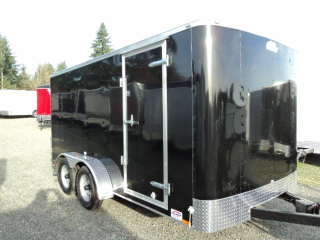"2020 Cargo Mate Challenger 7X14 7K w/6"" Extra Height and Ramp Door"