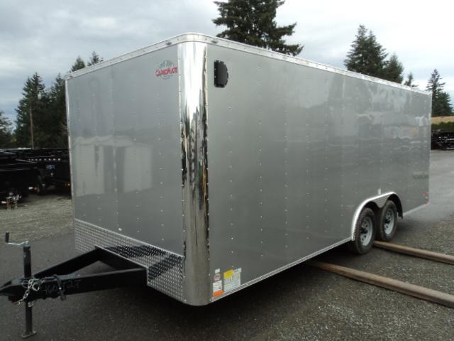 2020 Cargo Mate E-SERIES 8.5X20 7k w/Rear Ramp Door and D-Rings