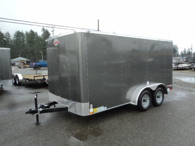 2020 Cargo Mate Challenger 7X14 7K w/Rear Ramp Door