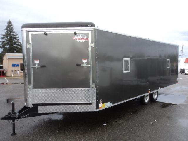 2020 Cargo Mate 8.5X26 7K Snowmobile Trailer