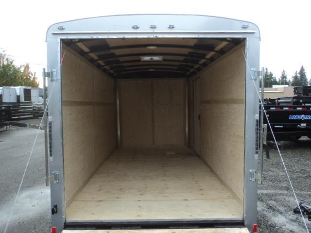 2020 Cargo Mate Blazer 7x14 7K w/Rear Ramp Door/Appearance Package