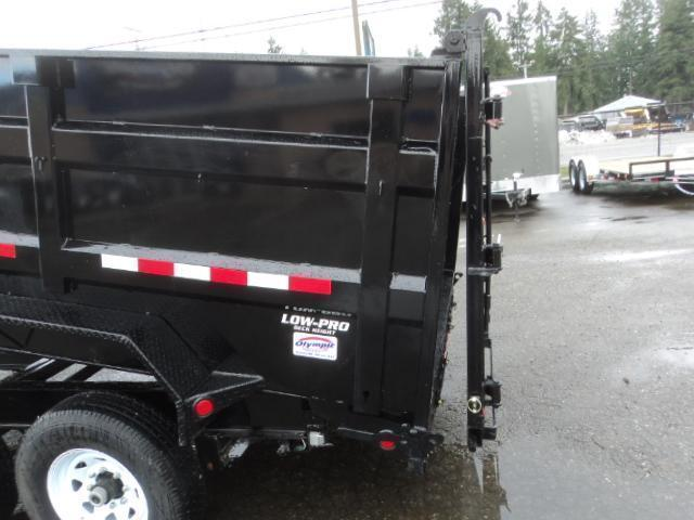 2020 PJ Trailers 7x14 High Side Dump w/4ft Sides/10K Jack Upgrade/Tarp Kit