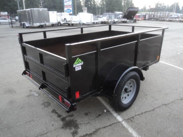 2020 Summit Alpine 5X8 Single Axle w/Swing Gate
