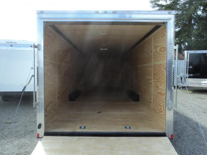 """2020 Cargo Mate E-series 8.5X28 10K w/Spare Tire/6"""" Additional Height/D-rings"""