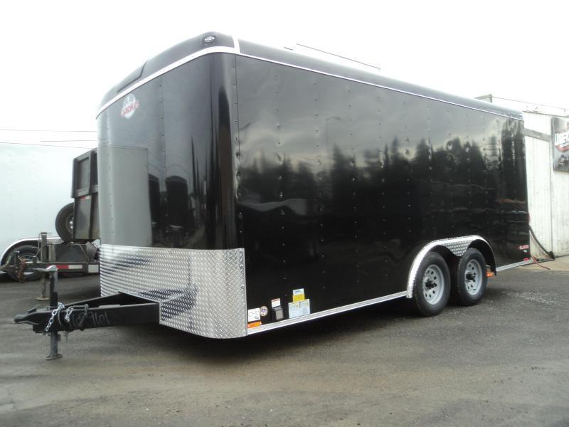 2020 Cargo Mate Blazer 8.5x16 7K w/110 Volt Package/Window/ and Ramp Door