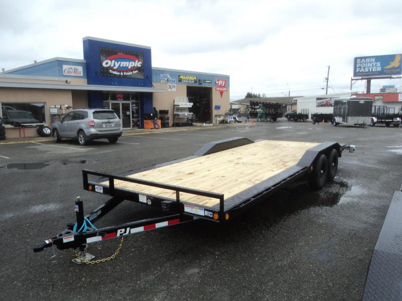 2020 PJ Trailers 8.5X22 10K Channel Buggy Hauler Trailer