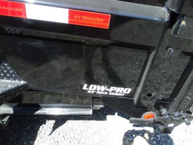 2020 PJ 7X14 Gooseneck 14K Low-Pro Dump Trailer