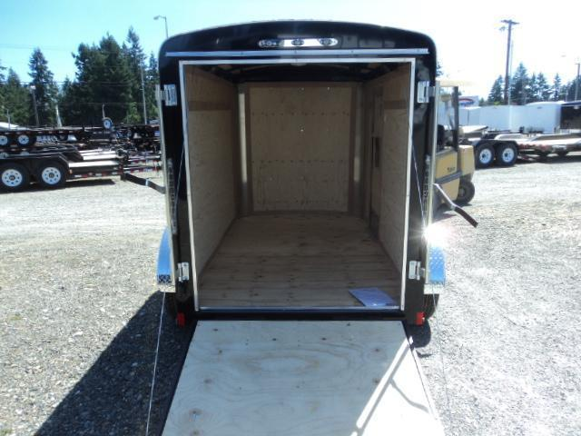 "2020 Cargo Mate Blazer 5x8 with 6"" Extra height/Rear Ramp Door"